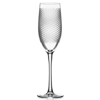 Cyclone Champagne Flute Glasses, Set of 4