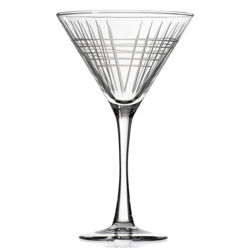 Matchstick Martini Glasses, Set of 4