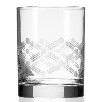 Maxwell Double Old Fashioned Glasses, Set of 4