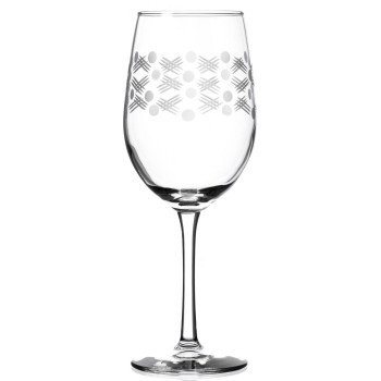 Maxwell White Wine Glasses, Set of 4