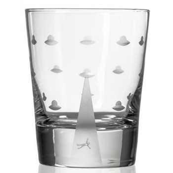 Mothership Double Old Fashioned Glasses, Set of 4