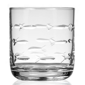 School of Fish Tumbler Glasses, Set of 4