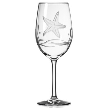 Starfish All Purpose Wine Glasses, Set of 4