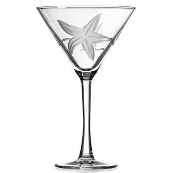 Starfish Martini Glasses, Set of 4