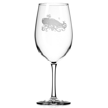 Whale All Purpose Wine Glasses, Set of 4