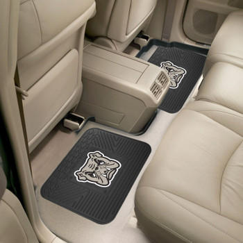 Adrian College Heavy Duty Vinyl Car Utility Mats, Set of 2