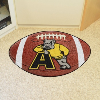 "20.5"" x 32.5"" Adrian College Football Shape Mat"
