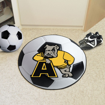 "27"" Adrian College Soccer Ball Round Mat"
