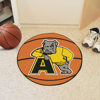 "27"" Adrian College Basketball Style Round Mat"