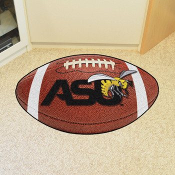 "20.5"" x 32.5"" Alabama State University Football Shape Mat"