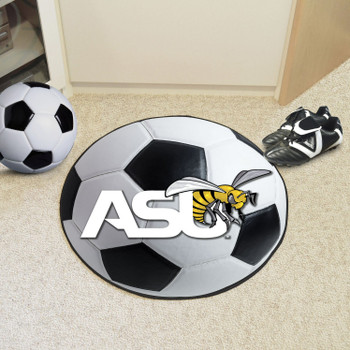 "27"" Alabama State University Soccer Ball Round Mat"