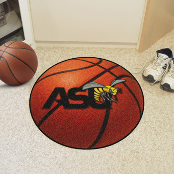 "27"" Alabama State University Basketball Style Round Mat"