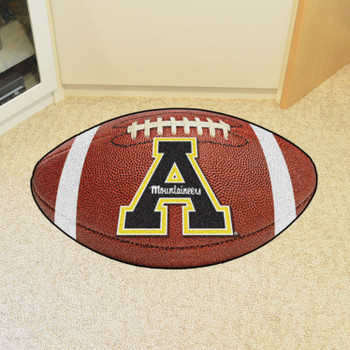 "20.5"" x 32.5"" Appalachian State University Football Shape Mat"