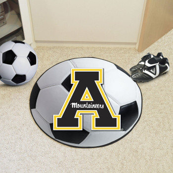 "27"" Appalachian State University Soccer Ball Round Mat"