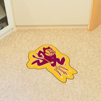 "Arizona State University Mascot Mat - ""Sparky"" Logo"