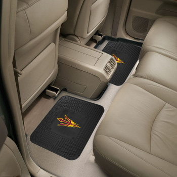 Arizona State University Heavy Duty Vinyl Car Utility Mats, Set of 2
