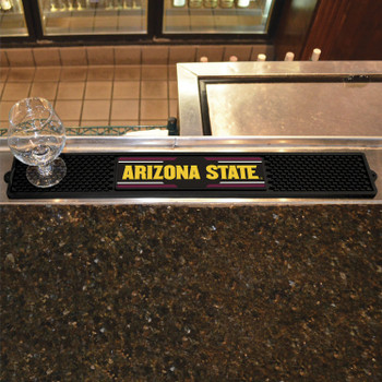 Arizona State University Vinyl Drink Mat