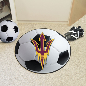 "27"" Arizona State University Soccer Ball Round Mat"