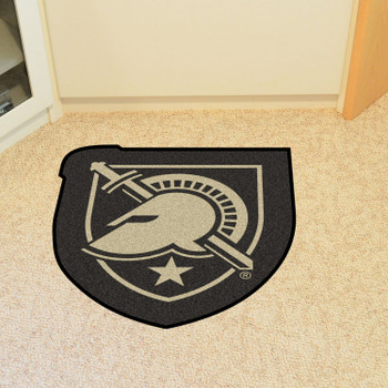 """U.S. Military Academy (Army) Mascot Mat - """"Shield with Armour"""" Primary Logo"""