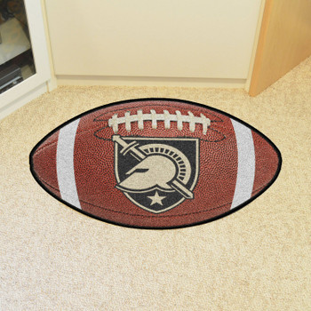"20.5"" x 32.5"" U.S. Military Academy (Army) Football Shape Mat"