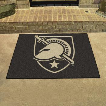 "33.75"" x 42.5"" U.S. Military Academy (Army) All Star Black Rectangle Mat"