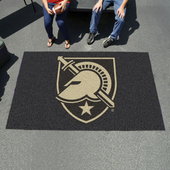 "59.5"" x 94.5"" U.S. Military Academy (Army) Black Rectangle Ulti Mat"