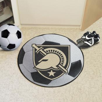 "27"" U.S. Military Academy (Army) Soccer Ball Round Mat"