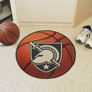 "27"" U.S. Military Academy (Army) Basketball Style Round Mat"