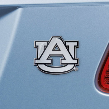 Auburn University Chrome Emblem, Set of 2