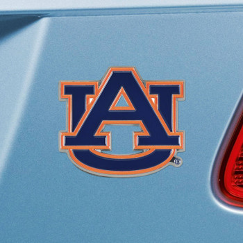 Auburn University Navy Blue Color Emblem, Set of 2