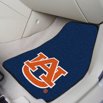 Auburn University Carpet Car Mat, Set of 2