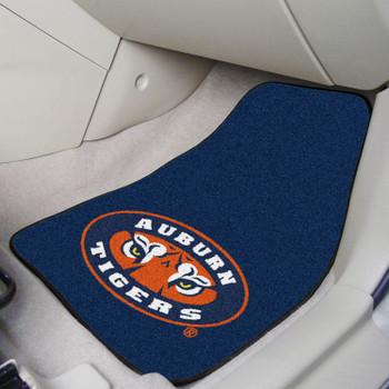 Auburn University Tigers Carpet Car Mat, Set of 2