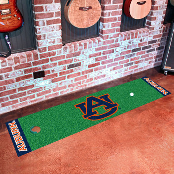 "18"" x 72"" Auburn University Putting Green Runner Mat"