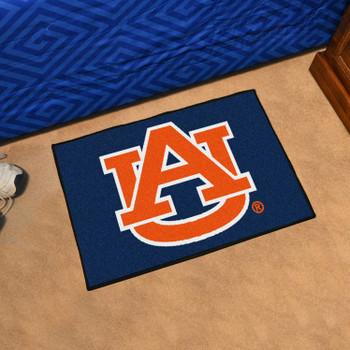 "19"" x 30"" Auburn University Tigers Rectangle Starter Mat"