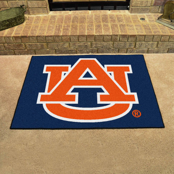 "33.75"" x 42.5"" Auburn University AU Logo All Star Rectangle Mat"