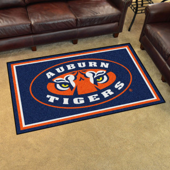 4' x 6' Auburn University Rectangle Rug