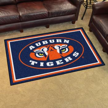 4' x 6' Auburn University Rectangle Rug