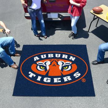 "59.5"" x 71"" Auburn University Tigers Tailgater Mat"