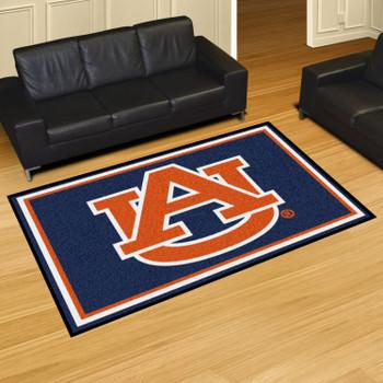 5' x 8' Auburn University AU Logo Rectangle Rug