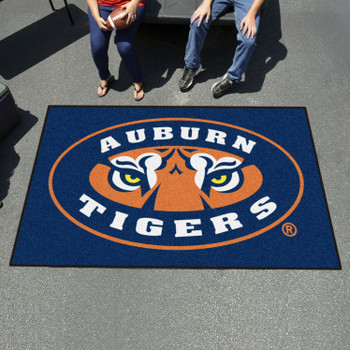 "59.5"" x 94.5"" Auburn University Tigers Rectangle Ulti Mat"
