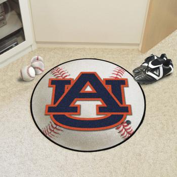 "27"" Auburn University Baseball Style Round Mat"