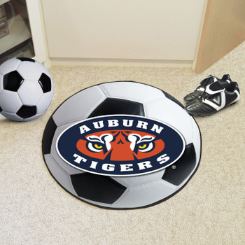 "27"" Auburn University Tigers Soccer Ball Round Mat"