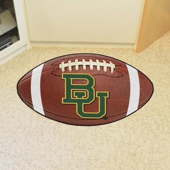 "20.5"" x 32.5"" Baylor University Football Shape Mat"