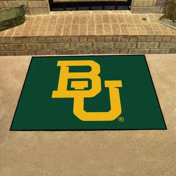 "33.75"" x 42.5"" Baylor University All Star Black Rectangle Mat"