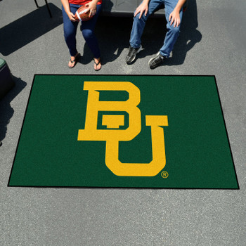 "59.5"" x 94.5"" Baylor University Black Rectangle Ulti Mat"