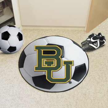 "27"" Baylor University Soccer Ball Round Mat"