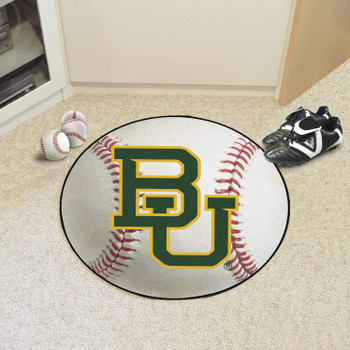 "27"" Baylor University Baseball Style Round Mat"