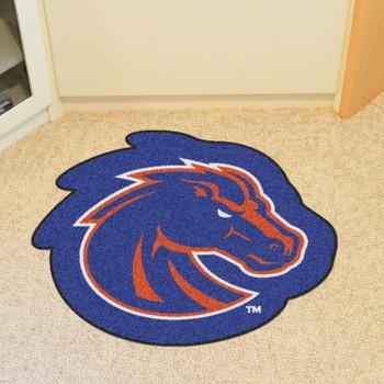 "Boise State University Mascot Mat - ""Bronco"" Logo"