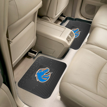 Boise State University Heavy Duty Vinyl Car Utility Mats, Set of 2