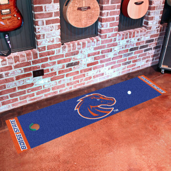 "18"" x 72"" Boise State University Putting Green Runner Mat"